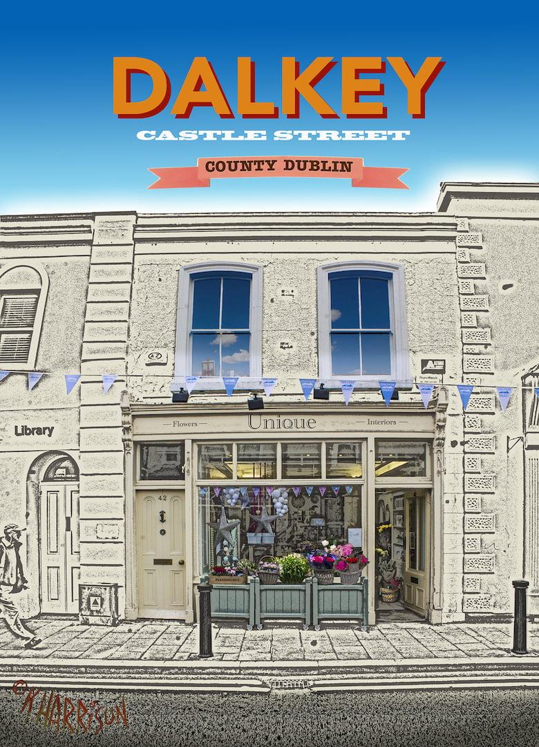 Shop & 4 Bedroom House with Garden – 42 Castle St, Dalkey, Co. Dublin