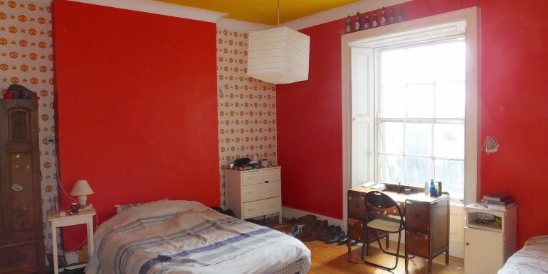 3 rd floor rear bedroom 1