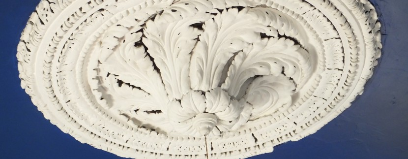 library ceiling rose