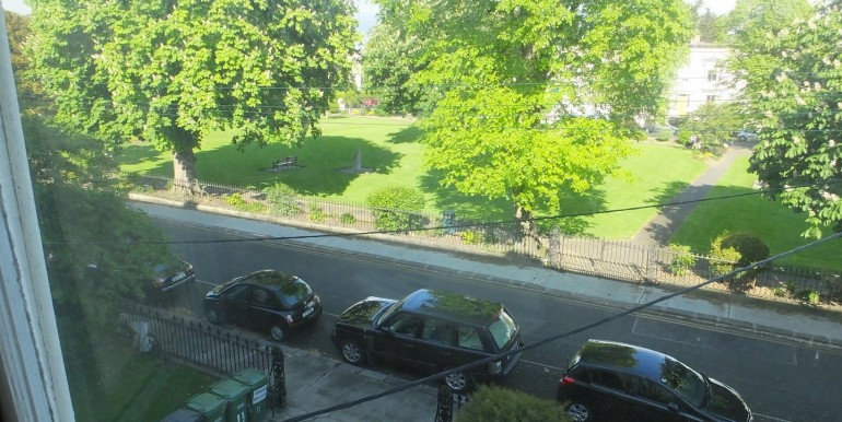 view of park 1 from drawing room 1
