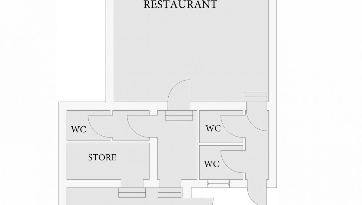 Floor Plan Bakers Table
