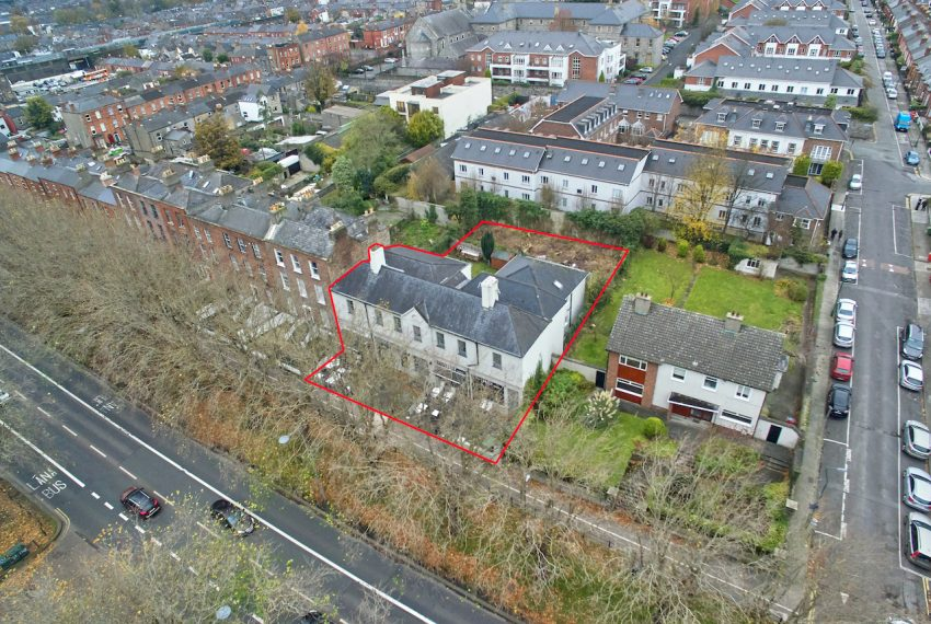 Drumcondra Site in Red a