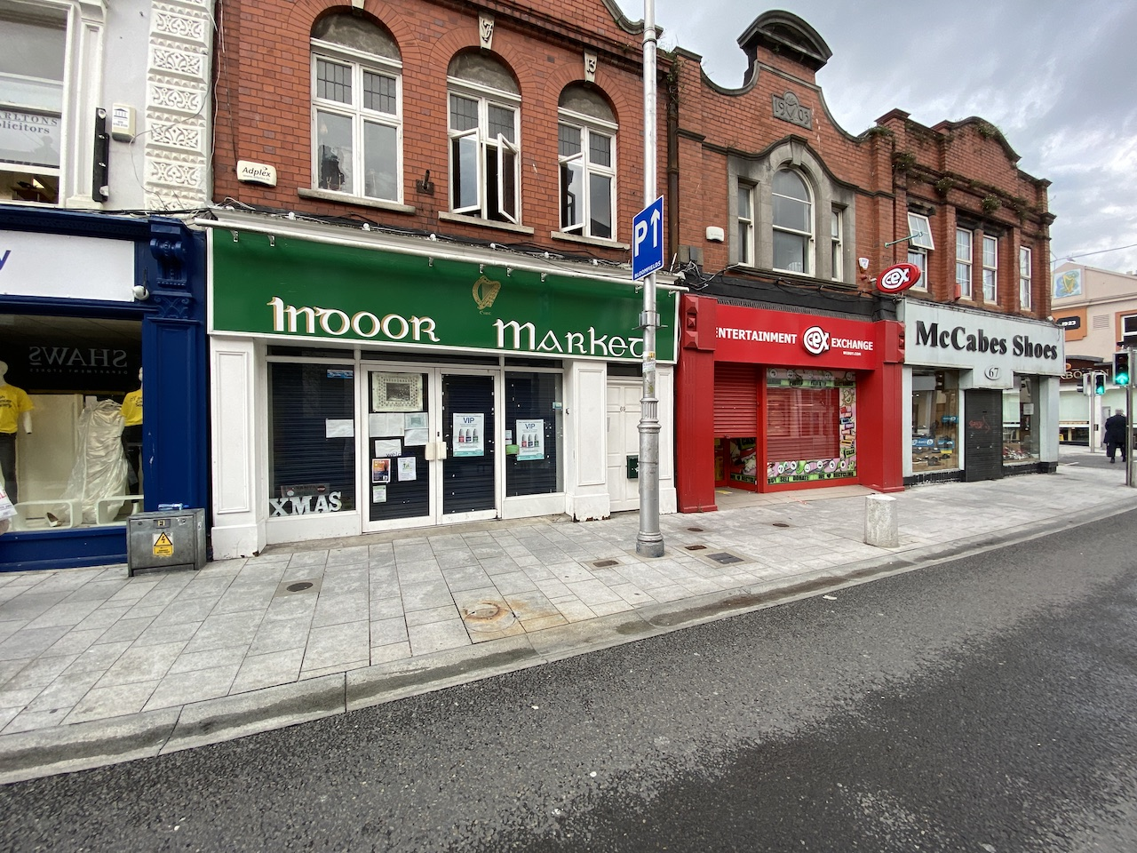 FOR SALE – Prominent Dun Laoghaire Shop on Lr Georges St opposite Penney's